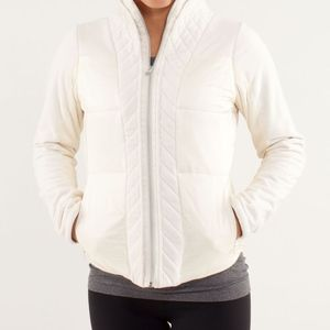 Lululemon Women's Polar Cream St Moritz Jacket 10